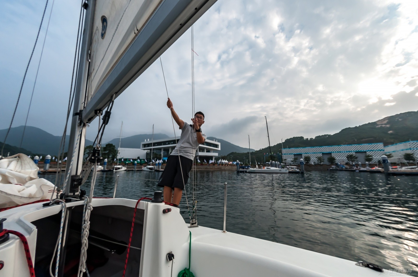 帆船 【2015大鹏杯帆船赛】鱼眼看航海 16049.jpg