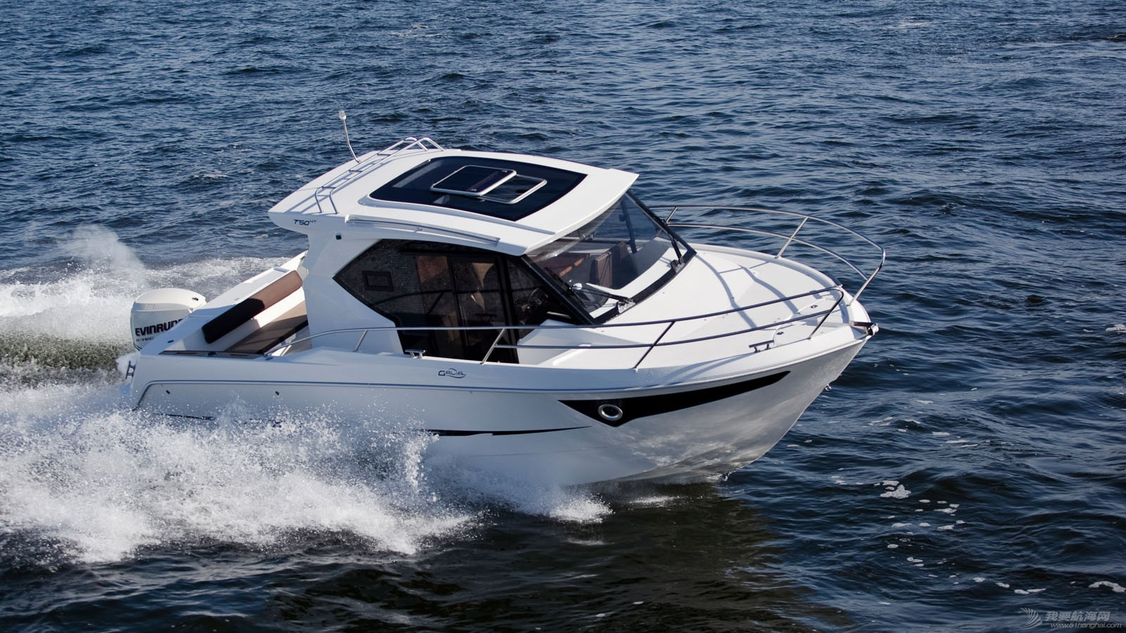 进口 波兰进口Galia 750 Hardtop硬顶钓鱼艇出售 _MG_4246wide