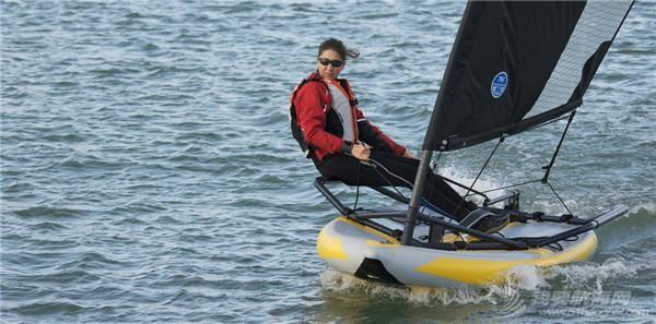 俱乐部,航海家,法国,帆船 航海家俱乐部-法国充气小帆船 「TIWAL 3.2 」