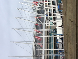 温哥华,国际 温哥华国际船展第一天! 主会场