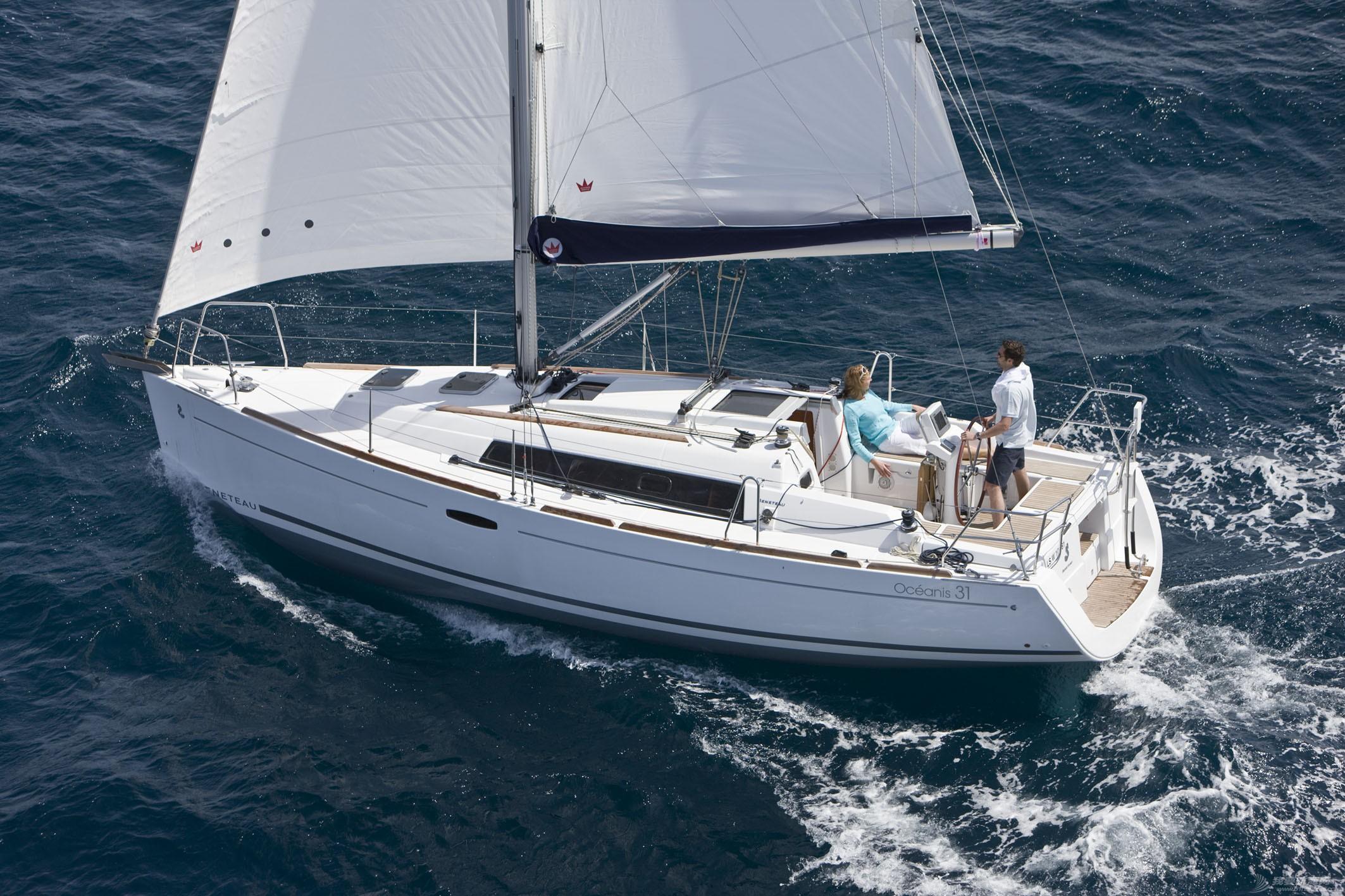 发动机,帆船,型号 Beneteau Oceanis 31 博纳多遨享仕31英尺单体帆船 博纳多遨享仕31单体帆船