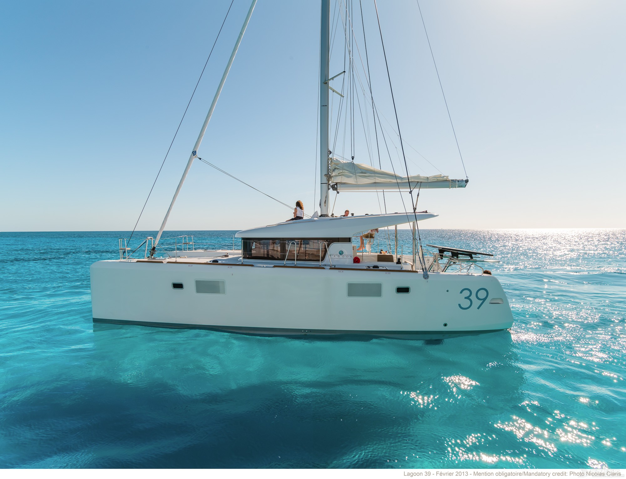 帆船 lagoon 39 蓝高39双体帆船 蓝高39双体帆船