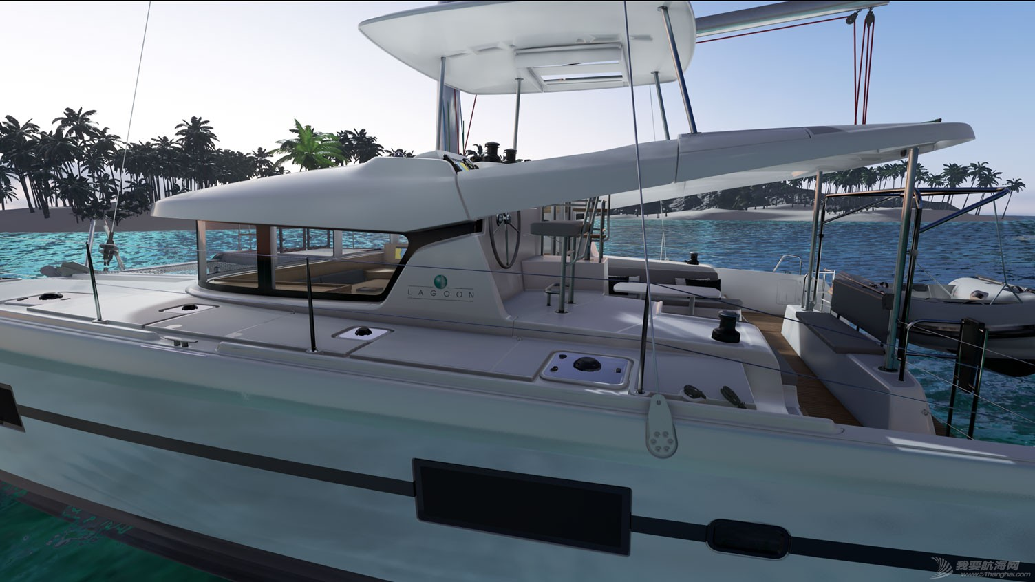 帆船 lagoon 42 蓝高42双体帆船 LAGOON 42双体帆船