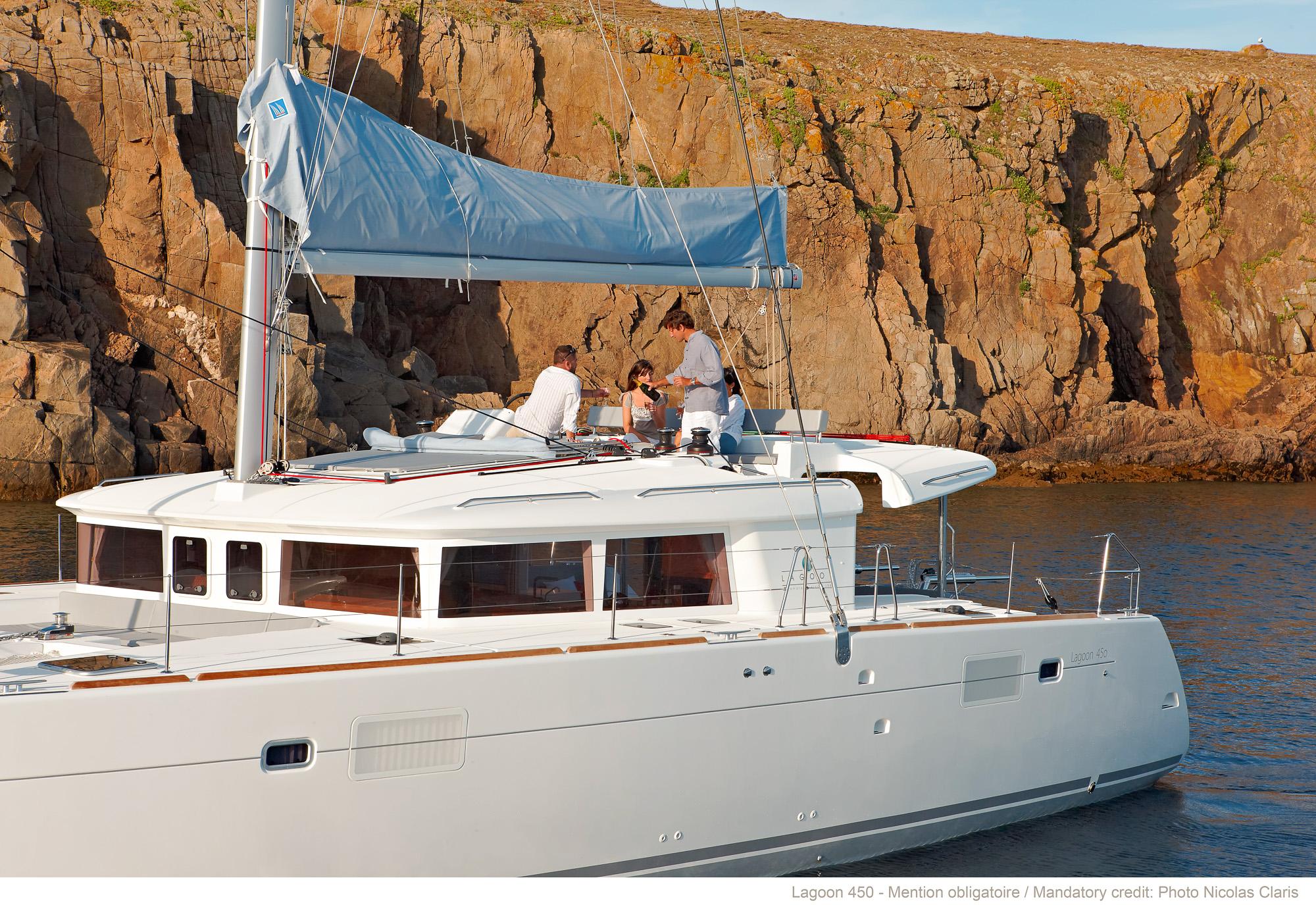 帆船 lagoon 450F 蓝高450F双体帆船 蓝高450F双体帆船