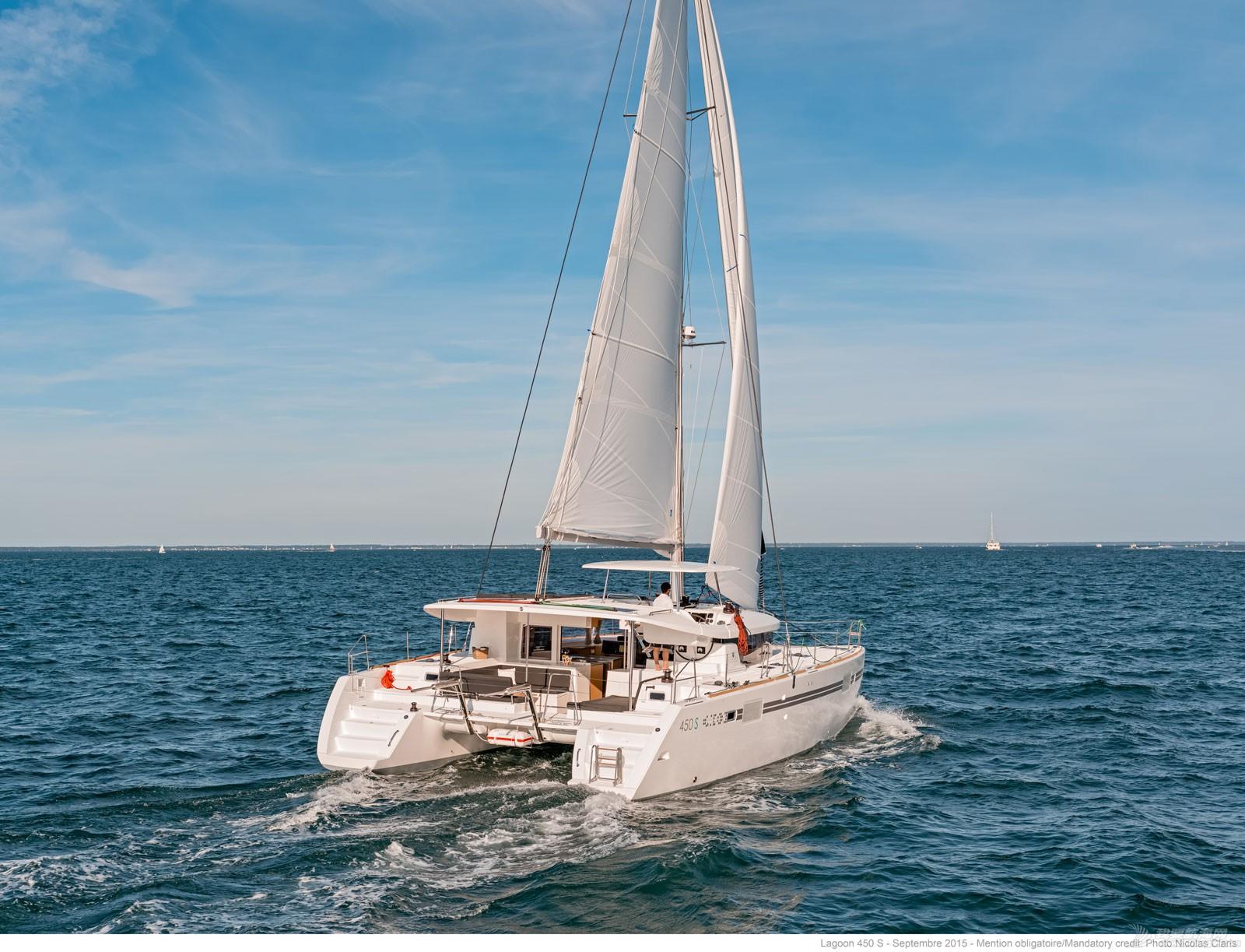 帆船 lagoon 450S 蓝高450S双体帆船 蓝高450S双体帆船