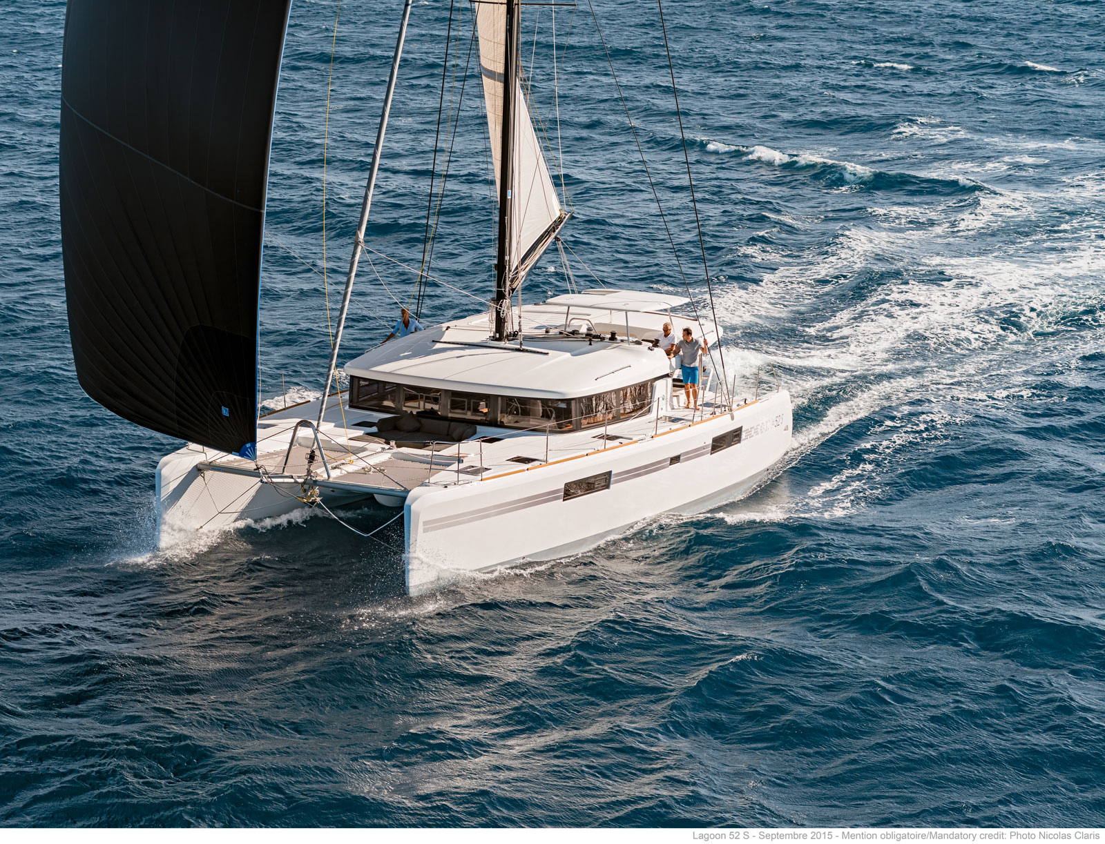 帆船 Lagoon 52S 蓝高52S双体帆船 蓝高52S双体帆船