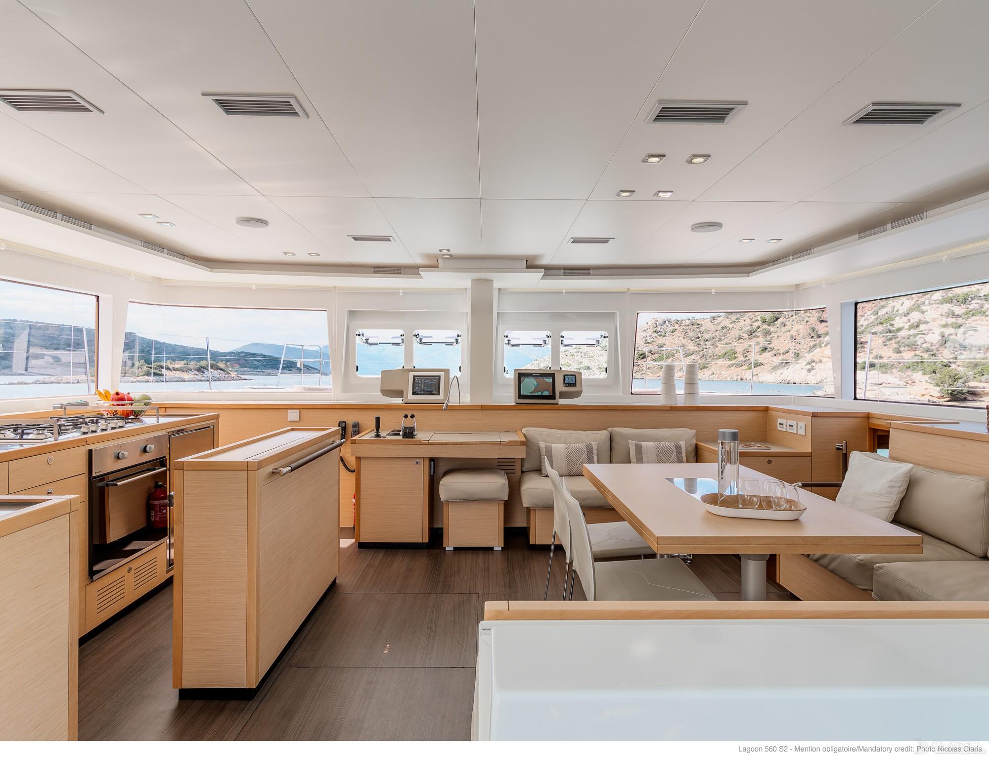帆船 Lagoon 560 蓝高560双体帆船 蓝高560双体帆船