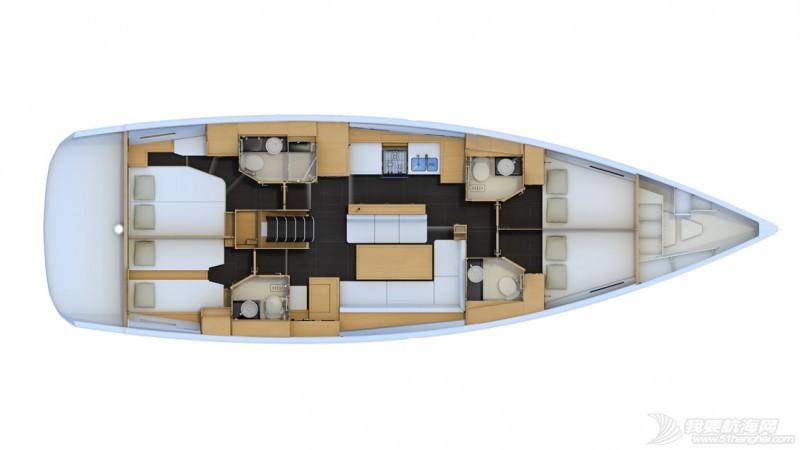 帆船 Jeanneau 54 亚诺54英尺单体帆船 亚诺54英尺单体帆船