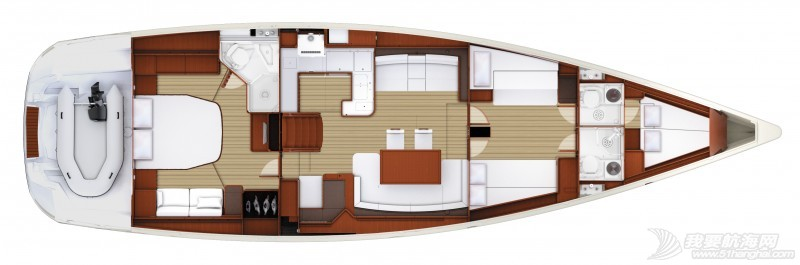 帆船 Jeanneau 57 亚诺57英尺单体帆船 亚诺57英尺单体帆船