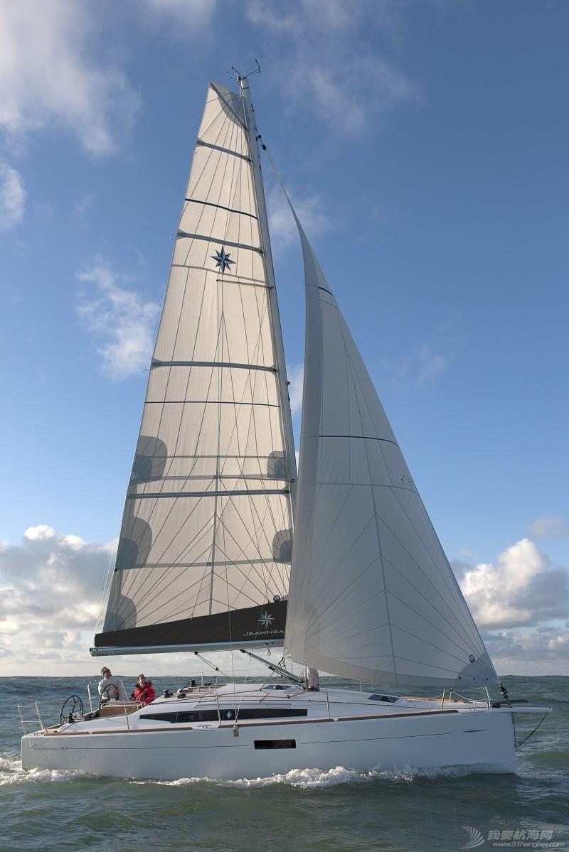 帆船 Jeanneau Sun Odyssey 349 亚诺349单体帆船 亚诺349单体帆船