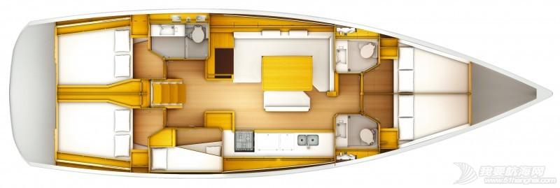 帆船 Jeanneau Sun Odyssey 519 亚诺519单体帆船 亚诺519单体帆船