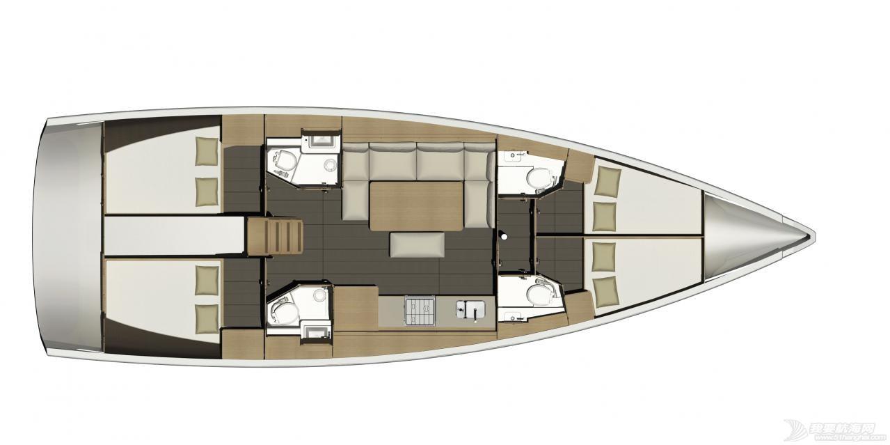 帆船 DUFOUR 460 丹枫460单体帆船