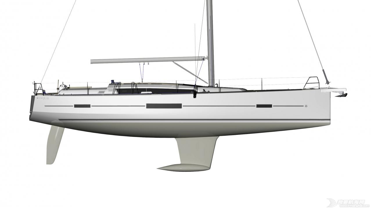 帆船 DUFOUR 512 丹枫512单体帆船