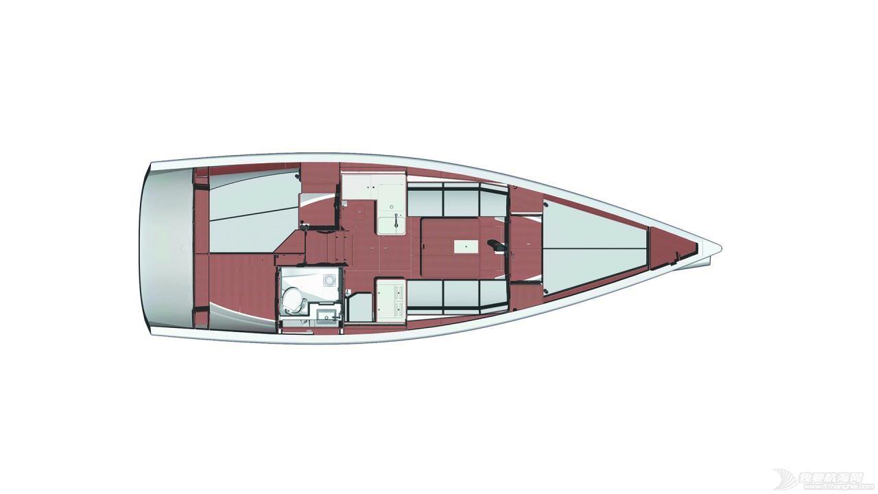 帆船 DUFOUR 3E6 丹枫36E单体帆船
