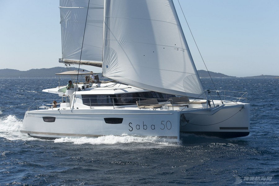 枫丹白露,帆船 Fountaine Pajot SABA 50枫丹白露 沙巴 50双体帆船 枫丹白露双体帆船