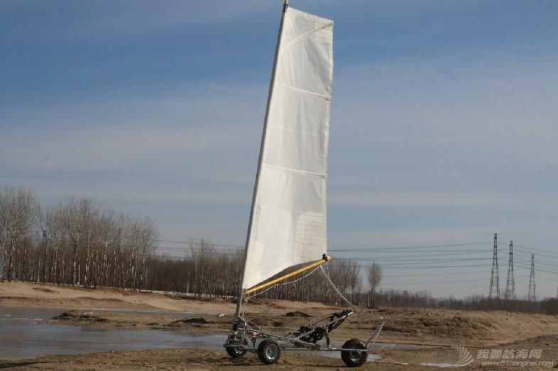 帆船,帆车,冰帆,潮白河,气象导航 【帆车】其实她不只是冰帆,还是陆地上的帆船,这会儿就叫她帆车吧