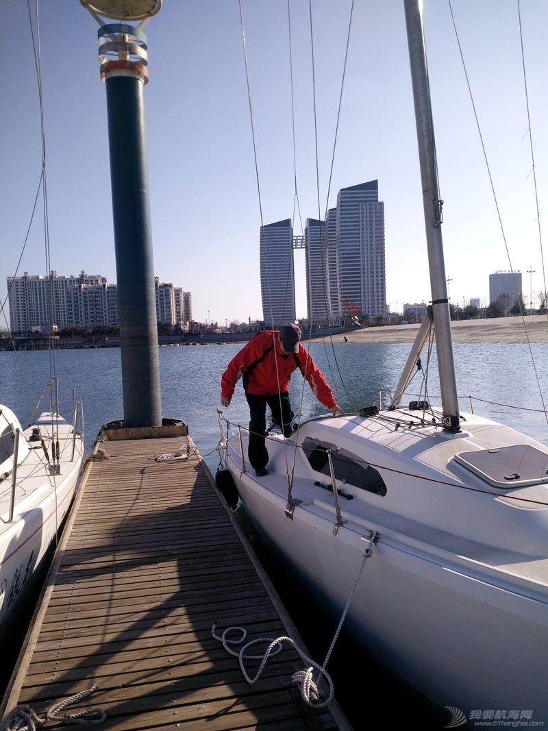 志愿者 我的志愿者生活038: 新的一年,我们还在刷船。 160302.jpg