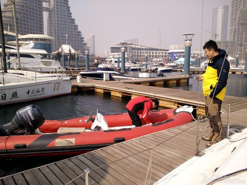 志愿者 我的志愿者生活038: 新的一年,我们还在刷船。 160307.jpg