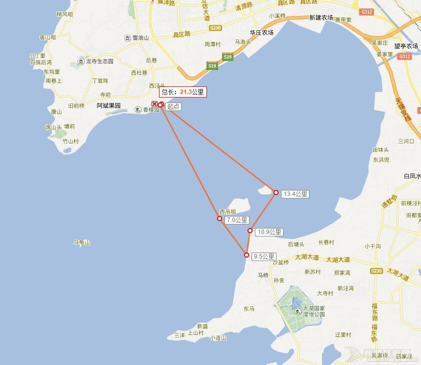 皮划艇,无锡,太湖 无锡君雅皮划艇22人同时穿越太湖贡湖湾 QQ截图20160223141100.jpg