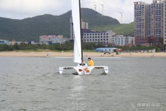 法伊-阿特斯16.1尺三体帆船