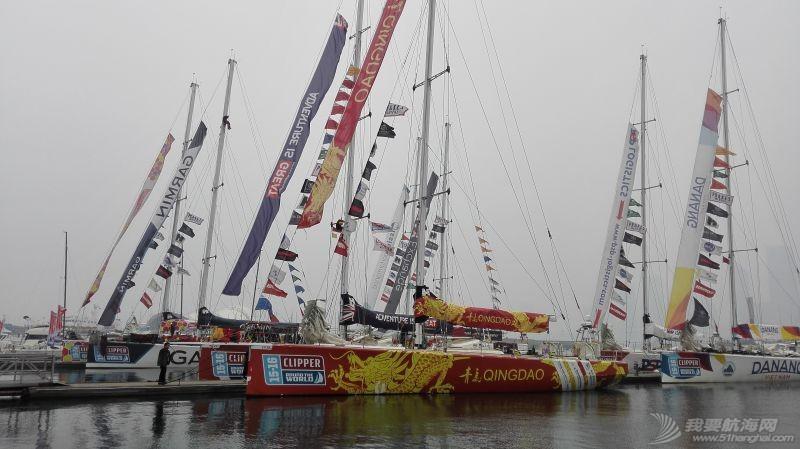 东南风,橡皮艇,青岛,越南,黄海 2015-2016克利伯环球帆船赛青岛站第二天