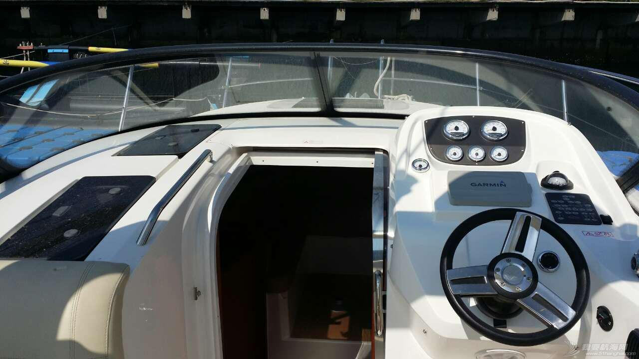巴伐利亚,德国 德国巴伐利亚9米游艇88万 驾控台2