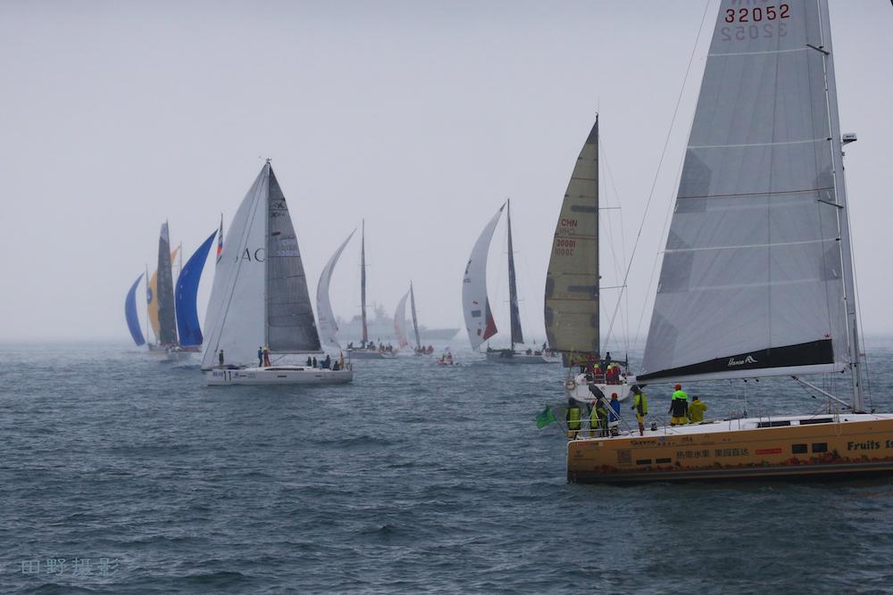 海南岛,国际,赛事,水手 田野镜头里的海帆赛-暨2016阿罗哈杯环海南岛国际大帆船赛第1日