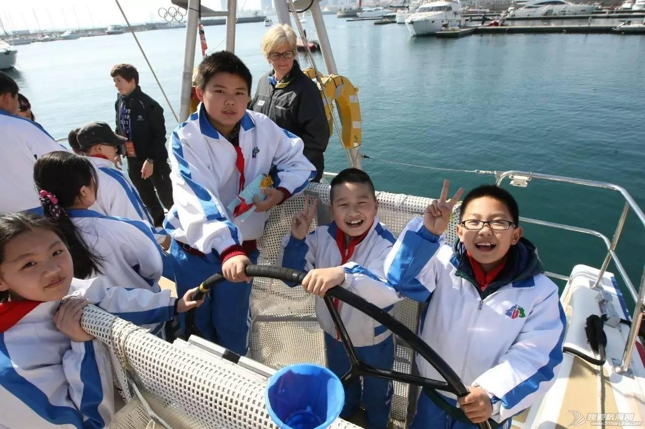 帆船体验丨千余名学生登船感受帆船魅力,克利伯环球帆船赛青岛站登船体验活动举行 7d36d046621654fcfb512f8246ca3f05.jpg