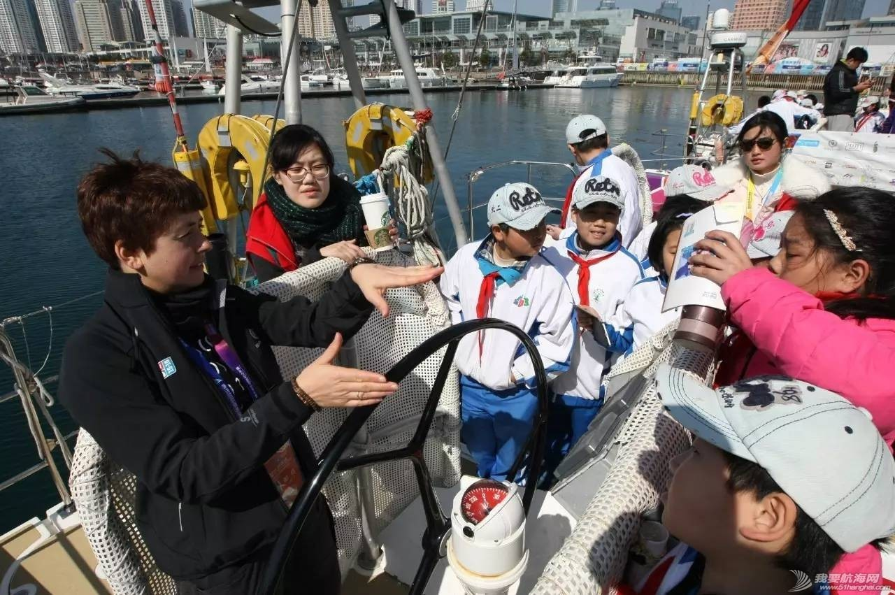 帆船体验丨千余名学生登船感受帆船魅力,克利伯环球帆船赛青岛站登船体验活动举行 3157746f934e4e60255421b56a59ef7f.jpg