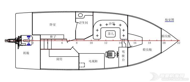 发动机,进口,欧洲,主机 换大船忍痛转让37尺豪华三体游艇/欧洲设计/进口主机/功能齐全/温馨舒适-海上的家 鑸卞鍥