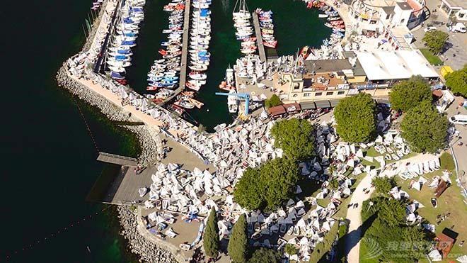 第34届加尔达小型帆船赛事已经起航