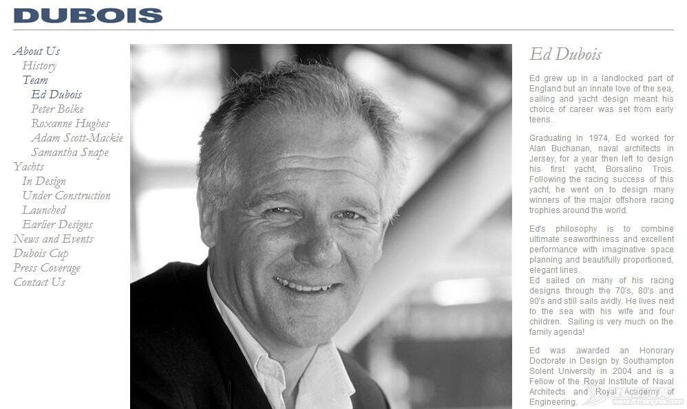 Ed,Dubois,帆船设计 天妒英才!迪布瓦航海设计公司(Ed Dubois)的帆船设计大师艾德(ED)本周四突... QQ截图20160326230832.jpg