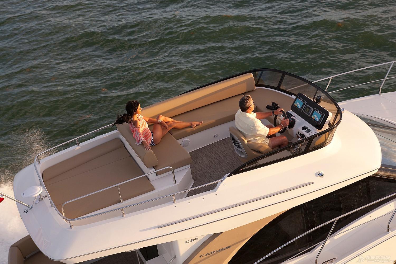 卡福40尺、36尺全新豪华游艇现船出售 C34