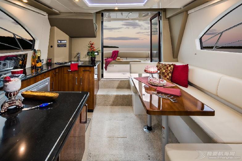 卡福40尺、36尺全新豪华游艇现船出售 2015-C34-Rev-Salon.jpg