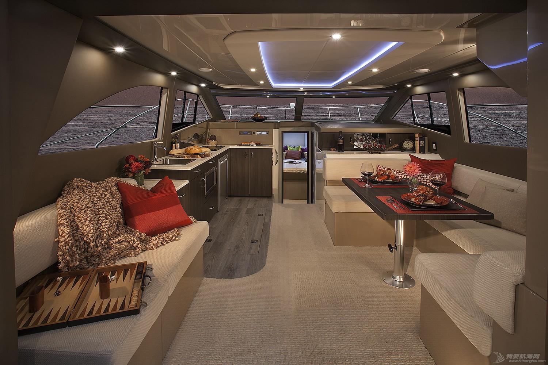 卡福40尺、36尺全新豪华游艇现船出售 Carver40_Salon4.jpg