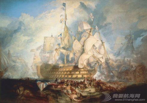 帆船,复古 几张复古的帆船油画 5.pic.jpg