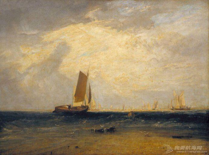 帆船,复古 几张复古的帆船油画 6.pic.jpg