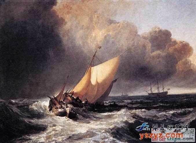 帆船,复古 几张复古的帆船油画 7.pic.jpg