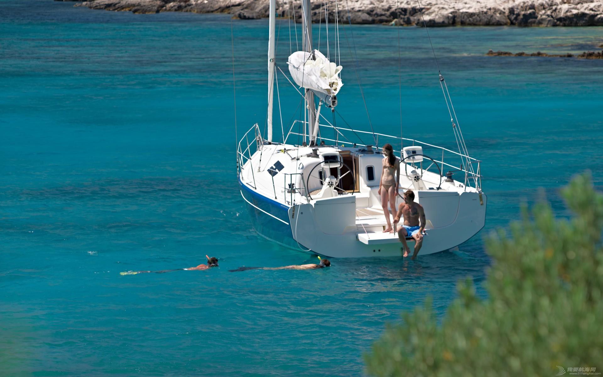 帆船 AZUREE 40 阿兹尔40英尺单体帆船 AZUREE 40