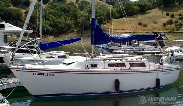 帆船,行业,生产总值,旧金山,交通运输 中美游艇帆船行业的发展差距 86_Catalina_25.jpg