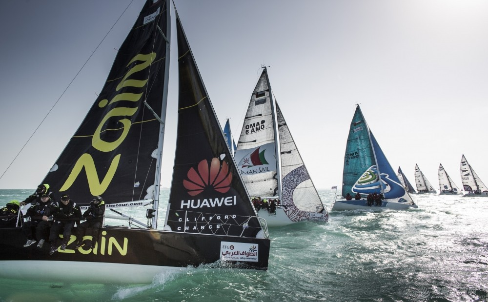 EFG阿拉伯半岛帆船赛连续六年举行  树立中东帆船赛事新典范 EFG阿拉伯半岛帆船赛现中国品牌华为.jpg