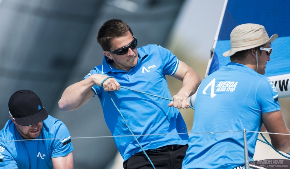 EFG阿拉伯半岛帆船赛连续六年举行  树立中东帆船赛事新典范 阿拉伯半岛帆船赛英国船队阿维达.jpg
