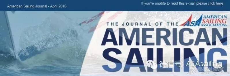 ASA杂志 American Sailing Journal 新一期出版了
