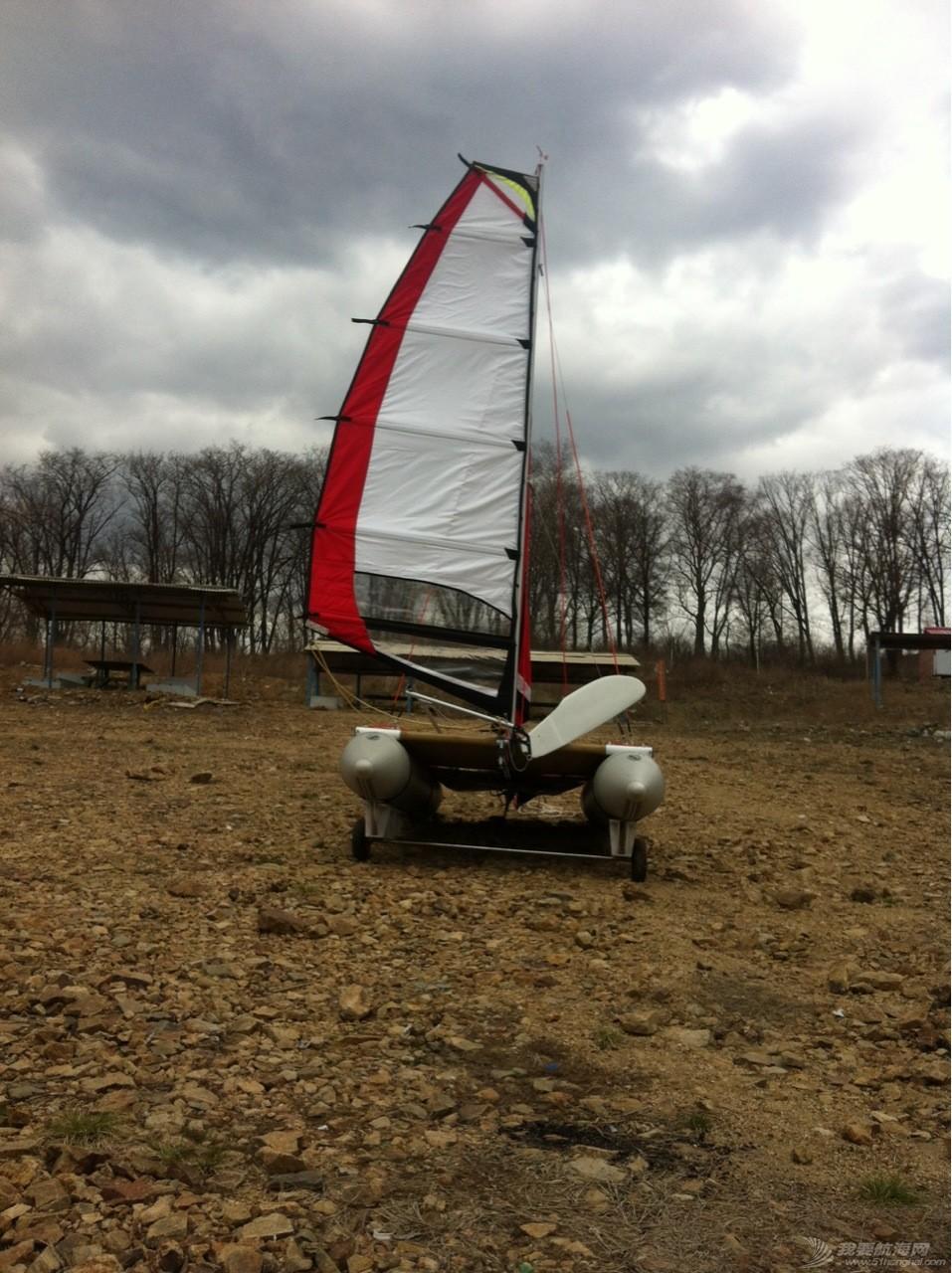 钢丝绳,热那亚,帆船,把手,空间 在家造帆船(下篇) 夹上小拖车