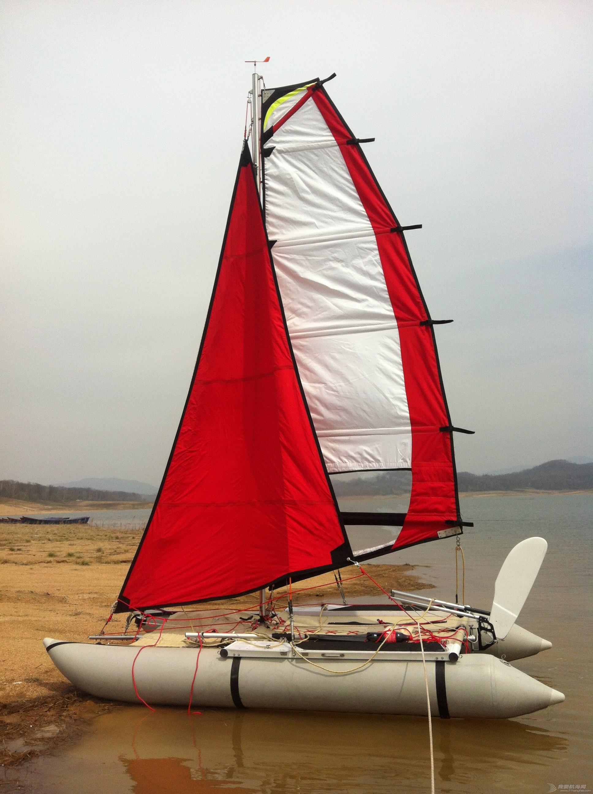 钢丝绳,热那亚,帆船,把手,空间 在家造帆船(下篇) 挂起大前帆