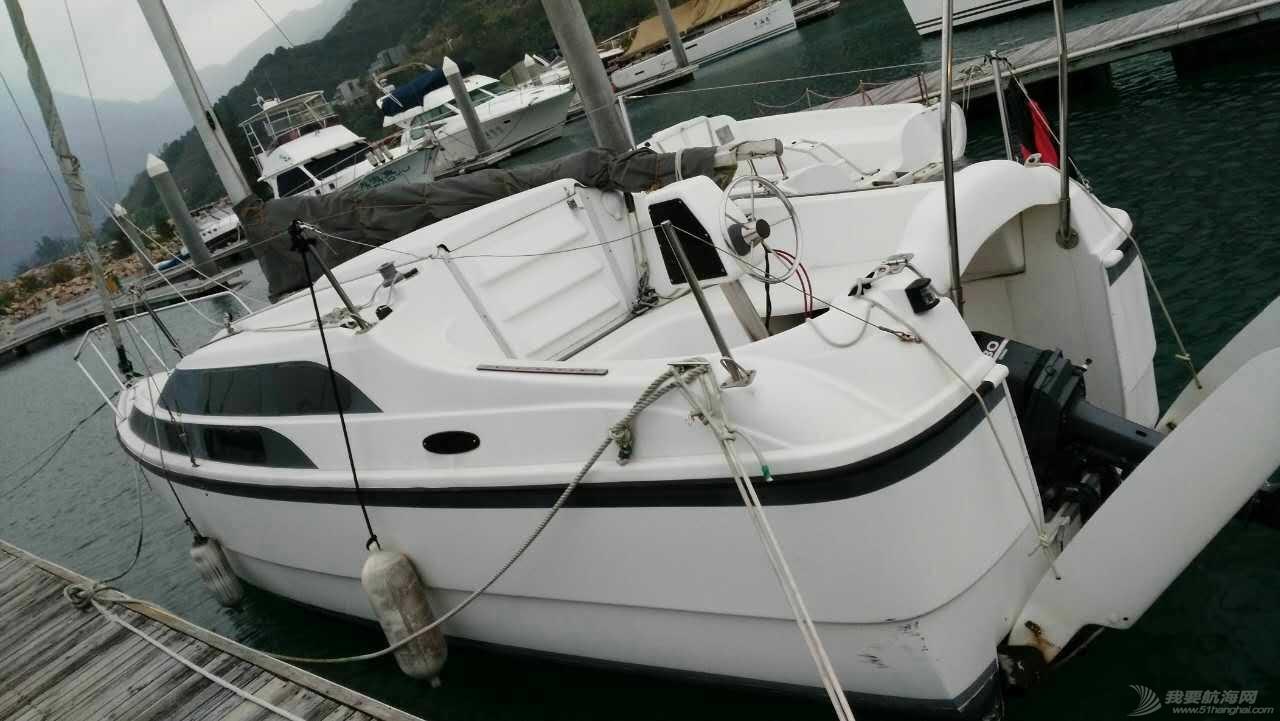 便宜,帆船,进口,哈尔滨,美国 25万出售几乎全新机帆两用帆船MacGregor26 美贵格26美国原装进口现船便宜卖 696386671519156499.jpg