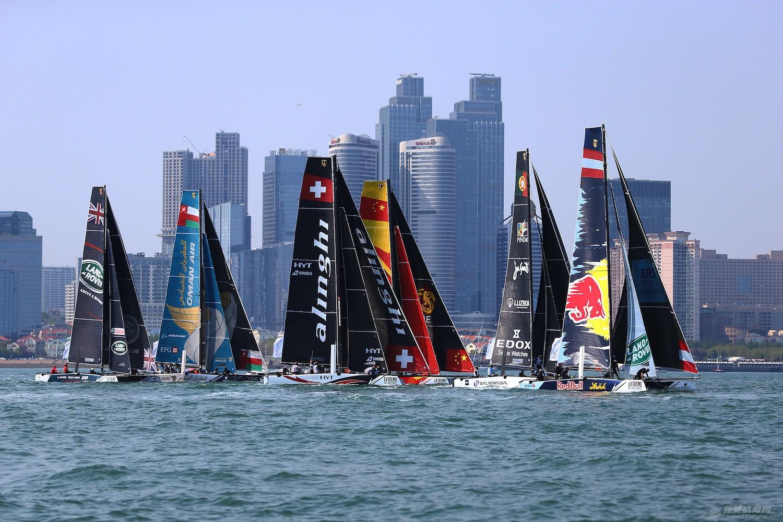 青岛,国际,极限 16青岛国际极限帆船赛第一天精彩图集--田野摄影 E78W4977副本.JPG