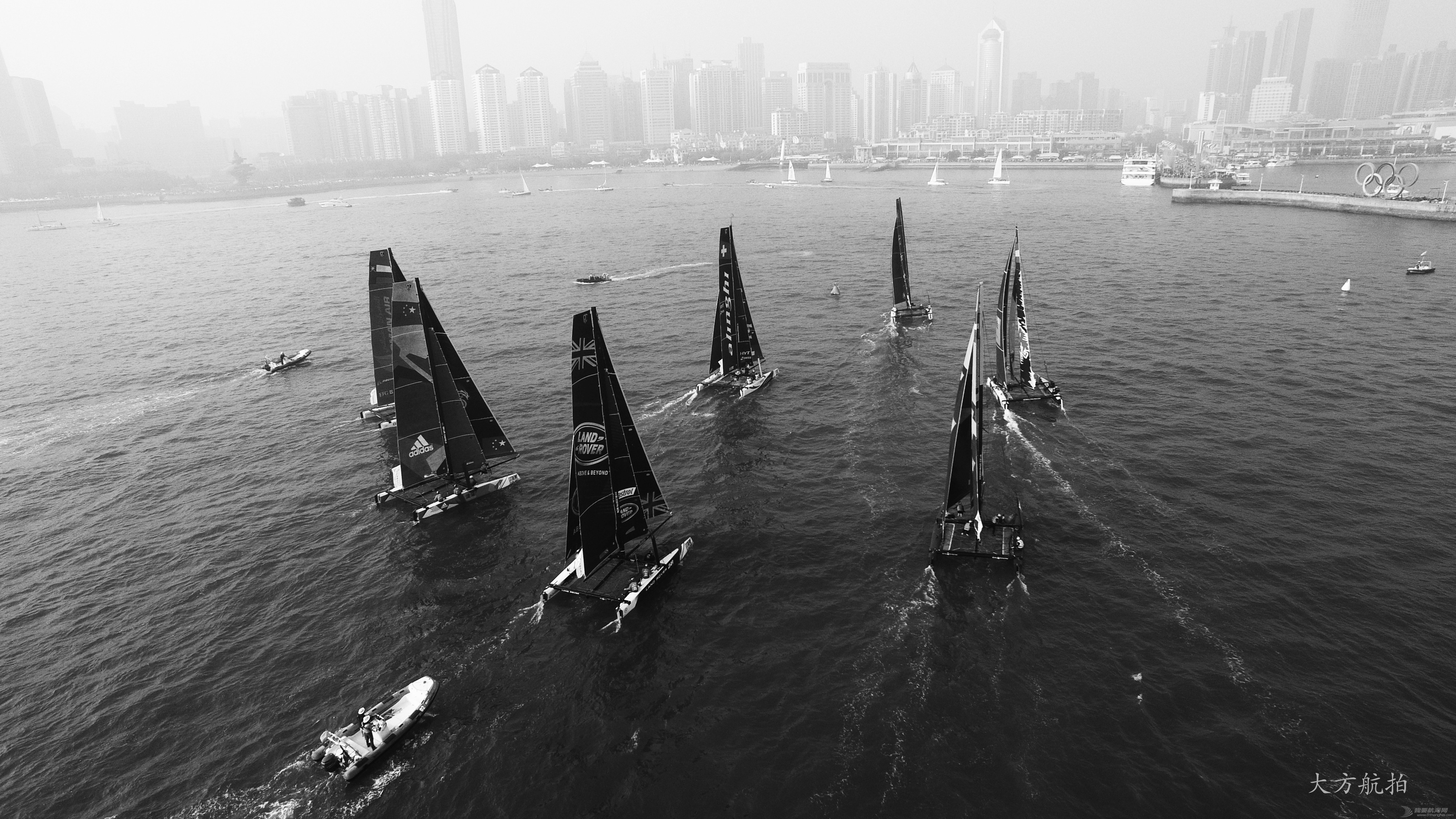 极限,摄影作品,系列赛,青岛,帆船 2016国际极限帆船系列赛青岛站--大方航拍 DJI_0295.jpg