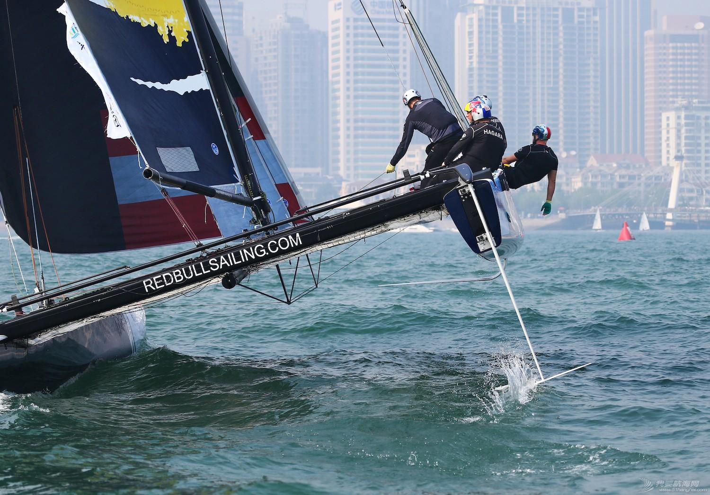 青岛,帆船,极限 极限帆船青岛站精彩图集---田野摄影 E78W6092副本