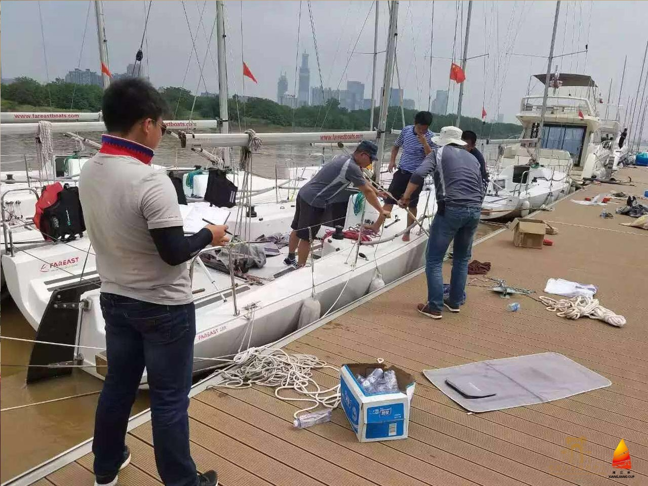 第二届湘江杯国际帆船赛丨今日迎接各国参赛运动员报到 8d233c7f7b70d41f777bf282f24a53e7.jpg